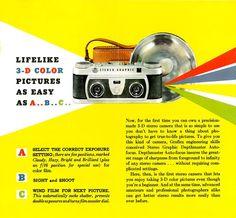 Graflex Depthmaster Stereo Graphic 3-D Camera Brochure - Free Download - #SurplusCameraGear
