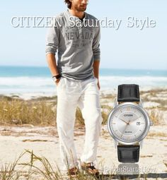 Shop our latest collection of Eco-Drive watches - powered by any light, never need battery replacement. Stylish Watches, Luxury Watches For Men, Citizen Watches, Citizen Eco, Watch Companies, Key, Classic, Model, Style