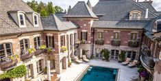 Dream House Interior, Luxury Homes Dream Houses, Bloomfield Hills, Mega Mansions, Brick And Stone, Big Houses, My Dream Home, The Good Place, Beautiful Homes