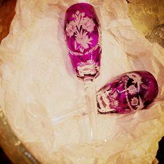Que tal essas lindas taças para enfeitar seu jantar, ou comemorações especiais?  Um charme!   #CristaisDeGramado #Gramado #Decoração #Cristais #Cristal #Taças #Decoration #Decor #Decorating #Crystal