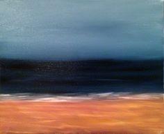 """Saatchi Art Artist Heather Baudet; Painting, """"Beach"""""""