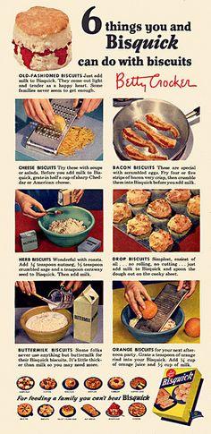 Bisquick Ad, 1954 | Flickr - Photo Sharing!