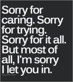 I am very, very sorry... Good Bye!