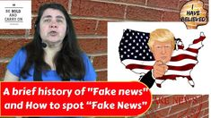 A brief history of Fake News and How to spot Fake News Fake News, Ronald Mcdonald, Believe, History, Clothes, Outfits, Historia, Clothing, Kleding