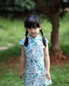 Kids Cheongsam Dress HZJ0018BE