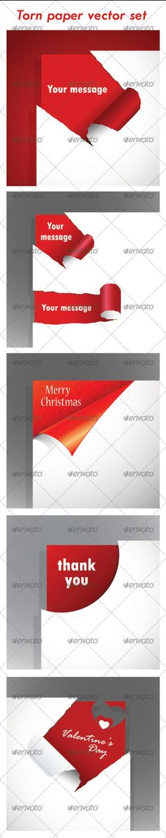 Realistic Graphic DOWNLOAD (.ai, .psd) :: http://jquery.re/pinterest-itmid-1003356775i.html ... Torn paper vector set ...  Christmas vector, paper, postcard, torn, torn pages, torn paper, valentines day, vector torn paper  ... Realistic Photo Graphic Print Obejct Business Web Elements Illustration Design Templates ... DOWNLOAD :: http://jquery.re/pinterest-itmid-1003356775i.html