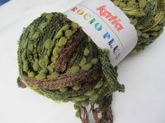 Amazon.com - Katia Rocio Plus Ruffling Novelty Yarn New Yarn Color 601