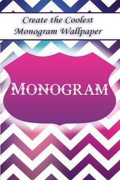Monogram -- iPhone app Catch  it https://itunes.apple.com/us/app/monogram-!!/id806977895?mt=8