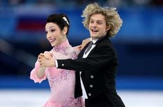 Meryl Davis & Charlie White | #Sochi2014 Short Dance | Credits @Getty Images