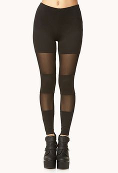 Velveteen Baroque Leggings | FOREVER21 - 2002246383