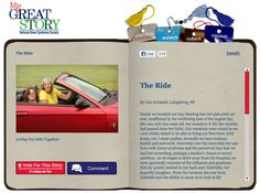 Check out the July 2013 My Great Story of the Month Contest winner, The Ride, by Lisa Schlaak, Laingsburg, MI! Share your story at ndss.org/stories!
