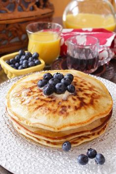 How To Make Pancakes for One - an easy pancake recipe for perfect, fluffy pancakes. This easy breakfast recipe includes a step by step VIDEO showing how to make pancakes from scratch. This small batch of pancakes is perfect amount for anyone cooking for one.| One Dish Kitchen Pancakes For One, Pancakes From Scratch, How To Make Pancakes, Pancakes Easy, Fluffy Pancakes, Baby Pancakes, Pancake Muffins, Pumpkin Pancakes, Breakfast Pancakes