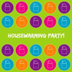 Vrolijke housewarming kaart - Uitnodigingen - Kaartje2go