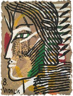 Francisco Vidal, Portrait Series 2 No.8, 2015, Tiwani Contemporary