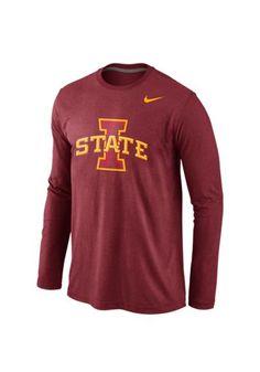 Iowa State Cyclones Nike Fashion - Crimson Logo Long Sleeve Tee http://www.rallyhouse.com/nike-iowa-state-cyclones-mens-crimson-logo-long-sleeve-tee-12512639?utm_source=pinterest&utm_medium=social&utm_campaign=Pinterest-ISUCyclones $38.00