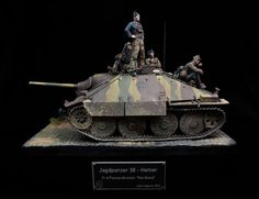 "by Luis Miguel Garcia ""Luismi"" (Cyber-Hobby Model Tanks, Ardennes, Military Modelling, Military Diorama, German Army, Panzer, Armored Vehicles, World War I, Scale Models"