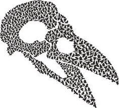 Royalty-Free Stock Video and Music Library Free Stock Video, Music Library, Symbols, Letters, Crows, Catalog, Skull, Animal, Illustration