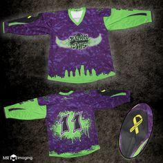 7d0cf9a3d Fully custom sublimated hockey jersey