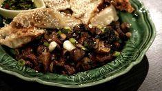Asiatisk wokad svamp   SVT recept