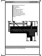 Pardoseala pe placa de beton armat in consola - detaliu de balcon AUSTROTHERM
