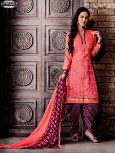 Stunning Pink Colour Chanderi Embroidery Unstitched Dress Material  https://www.gnoutlet.com/collections/dress-materials/products/stunning-pink-colour-chanderi-embroidery-unstitched-dress-material