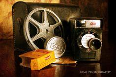 Vintage movie camera  ~ Pams Photography ~
