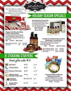 Let us help you with your gift giving needs this holiday season! www.myjestore.com/paulalister