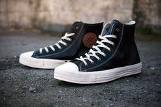 Converse 2012 Spring Chuck Taylor Premium Black Leather | Hypebeast