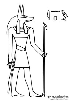 Share Tweet Pin Mail Egyptian god Anubis had the head of a jackal, and both ruled the afterlife and was the god of mummification. ...