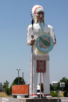 Near Vinita, Oklahoma