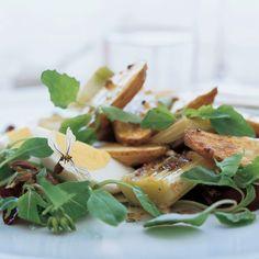 Pescatarian Recipes, Vegetarian Recipes, Cooking Recipes, Veg Dishes, Side Dishes, Vegetable Sides, Potato Recipes, Salad Recipes, Salads