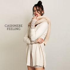 Cashmere Feeling ab dem 13.09.2016 bei uns im Shop: http://b4f.me/shopnow2016  #cashmere #autumn #cozy #knit #cardigan #fashion #ootd