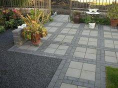 Image result for bestrating met grote tegels