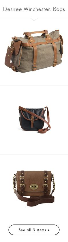 """""""Desiree Winchester: Bags"""" by kelseystan97 ❤ liked on Polyvore featuring bags, messenger bags, green, green bag, olive green bag, army green messenger bag, flap bag, olive green messenger bag, handbags and shoulder bags"""