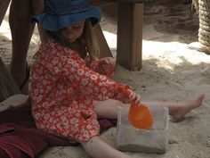 Let go. Play in thé sand.