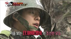 [Real men] 진짜 사나이 - Amber fall in love with instructor 20150301
