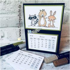 Stempellicht: We Must Celebrate - Tischkalender