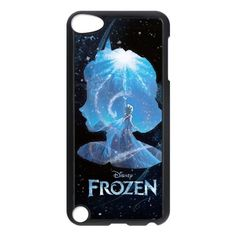 Frozen Phone Cover Case For iPod touch 5 Black CGD163985 - Brought to you by Avarsha.com