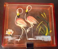 Vintage Miami Florida Mini Jewelry Box by OnceAgainbyTere on Etsy