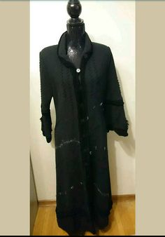 Check out this item in my Etsy shop https://www.etsy.com/ca/listing/527965563/chacok-black-victorian-style-long