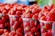 Hummm des fraises