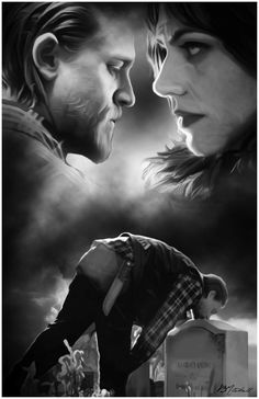 Tara and Jax Teller (Sons of Anarchy) Sons Of Anarchy Tara, Serie Sons Of Anarchy, Sons Of Arnachy, Sons Of Anarchy Samcro, Jax Teller, Maggie Siff, Jackson Teller, Anarchy Quotes, Outlaws Motorcycle Club