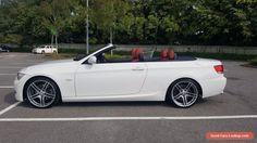 BMW 3 Series 3.0 330d M Sport Convertible Red Leather Sat Nav Hard Top #bmw #3series #forsale #unitedkingdom