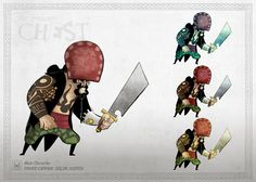 JabiMotion 2d Character, Character Design References, Pirate Art, Visual Development, Treasure Chest, Concept Art, Characters, Drawings, Puzzles