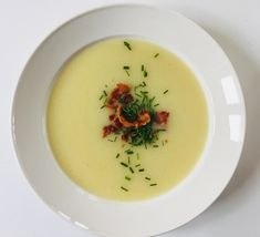 Kartoffel porre suppe ✅ | opskrifter | GastroFun.dk