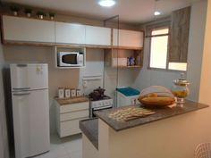 cozinha pequena com lavanderia                                                                                                                                                                                 Mais