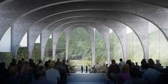 Bjarke Ingels Group (BIG) has won an international competition to design a flagship factory for San Pellegrino in Bergamo, Italy. San Pellegrino, Big Architects, Architecture Visualization, Architecture Collage, Architecture Design, Interior Design Magazine, Gate Design, Home Pictures, Contemporary Architecture