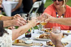 Guests enjoying a Farm Feast. #EpiphanyFarmsEvents #EpiphanyFarms #SpecialEvent #Catering #FarmtoFork