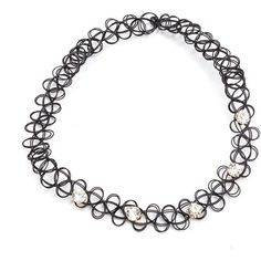 BLACK Bling The Best Tattoo Choker ($2.87) ❤ liked on Polyvore featuring jewelry, necklaces, black, choker necklaces, fake diamond necklace, stretch tattoo choker, jewel choker and stretch choker