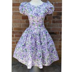 Hey, I found this really awesome Etsy listing at https://www.etsy.com/listing/239943588/70s-anne-savoy-50s-style-cotton-floral